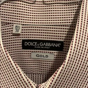 Dolce and Gabbana Dress Shirt